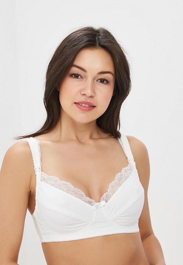 женский бюстгальтер для беременных hunny mammy, белый