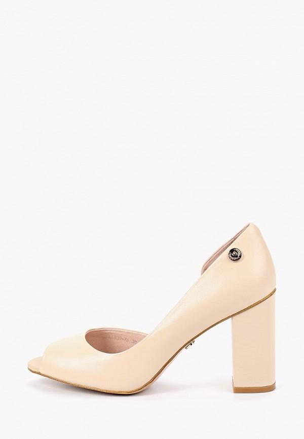 Туфли Marco Bonne`, mp002xw18tvp, бежевый, Весна-лето 2018  - купить со скидкой