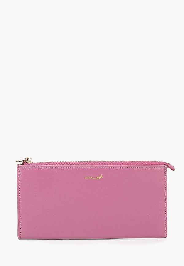 женский кошелёк galib, розовый