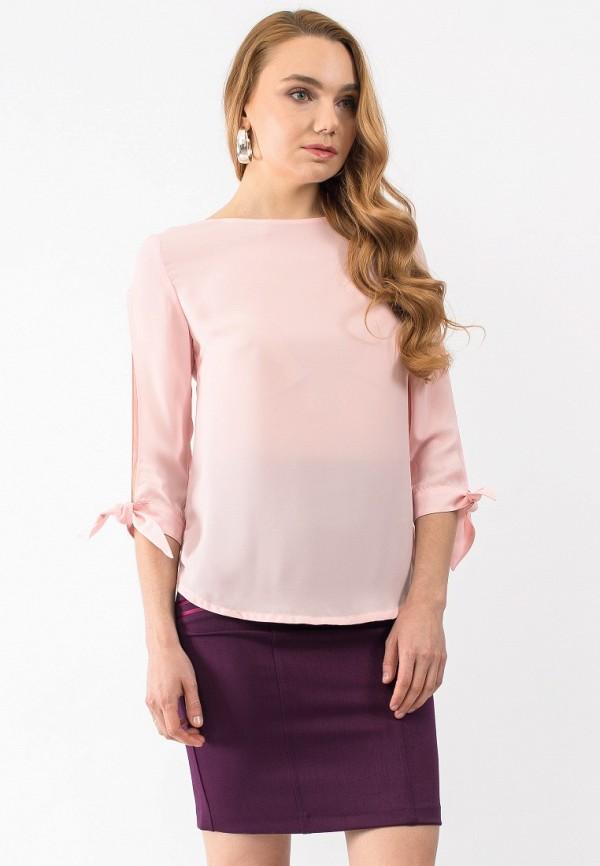 Купить Блуза Gloss, MP002XW18TW2, розовый, Весна-лето 2018