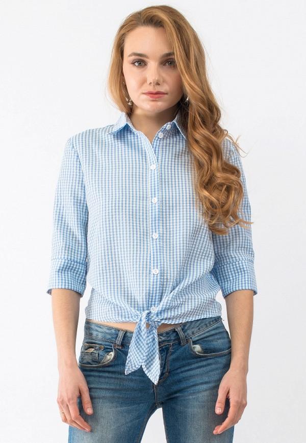 Купить Блуза Gloss, MP002XW18TWX, голубой, Весна-лето 2018