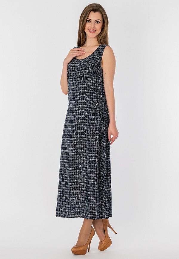 женское платье макси s&a style, черное
