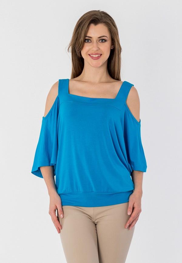 женская блузка s&a style, голубая