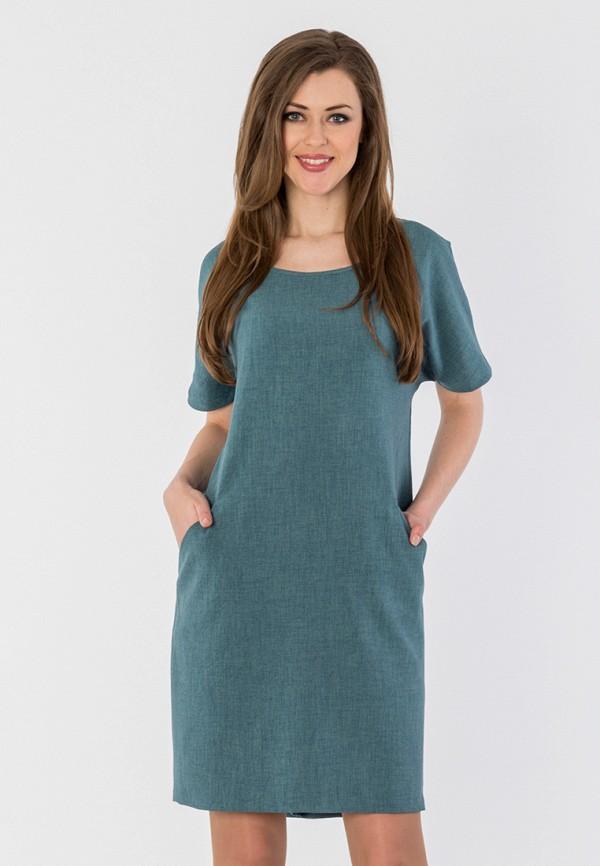 женское платье мини s&a style, бирюзовое