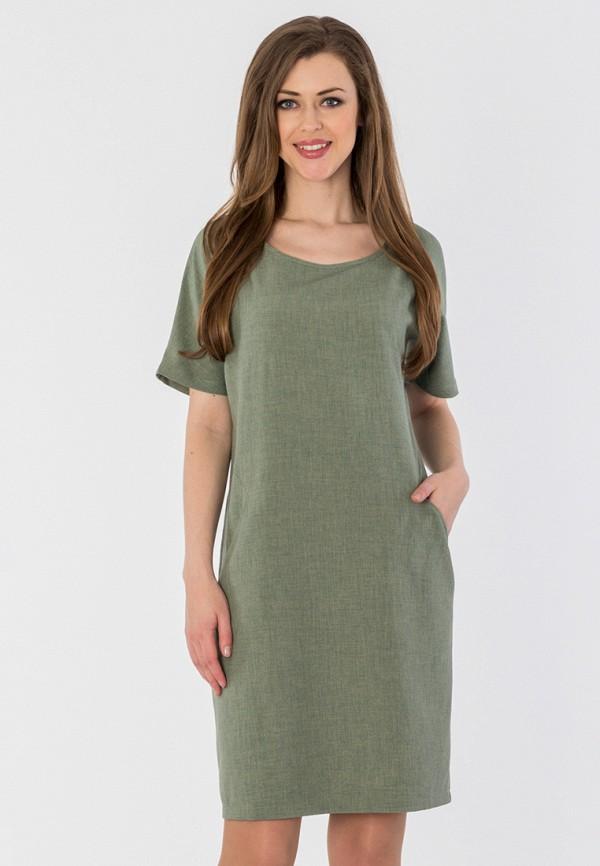женское платье мини s&a style, хаки