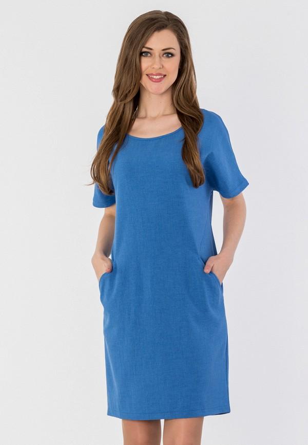 женское платье мини s&a style, голубое