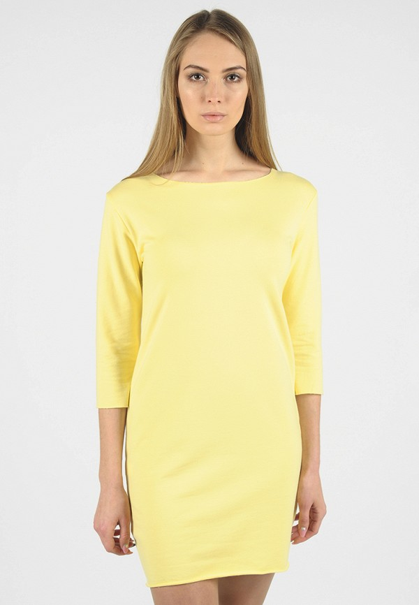 Фото - Женское платье Intrico желтого цвета