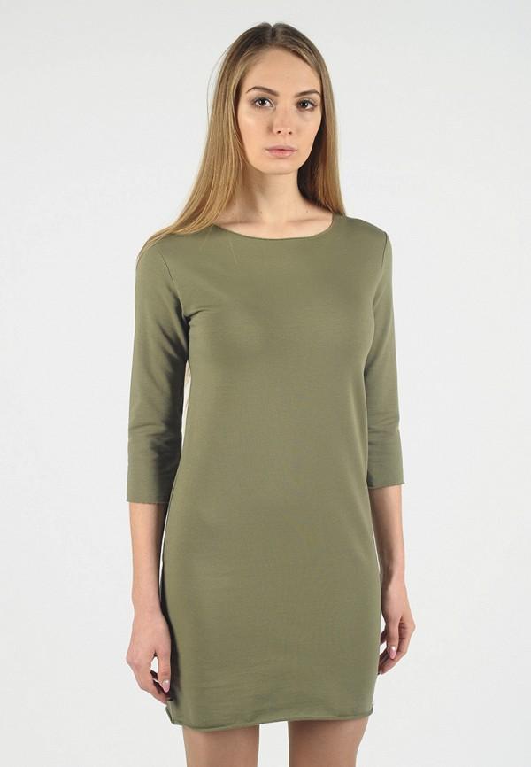 Фото - Женское платье Intrico цвета хаки