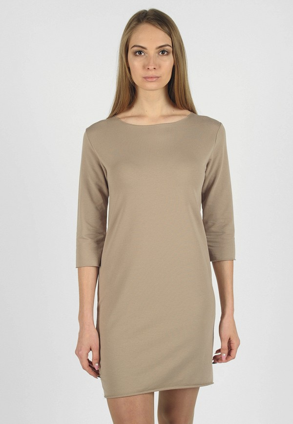 Фото - Женское платье Intrico бежевого цвета