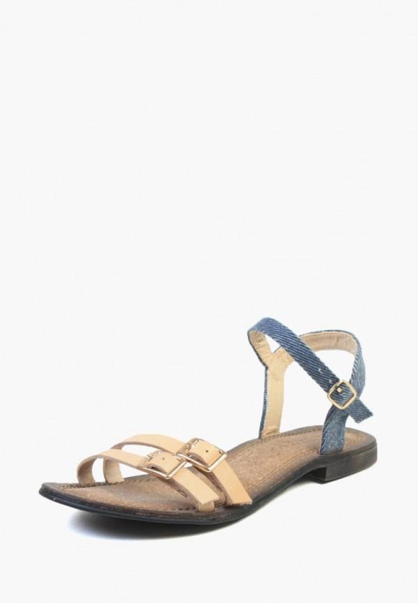 женские сандалии airbox, бежевые