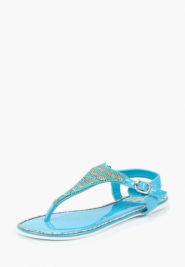 женские сандалии saivvila, голубые
