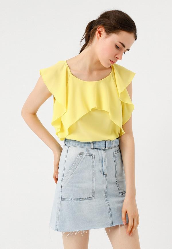 Купить Блуза LIME, MP002XW18UBS, желтый, Весна-лето 2018