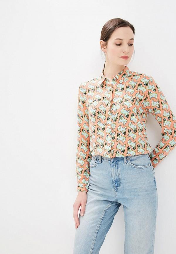 Купить Блуза Твое, mp002xw18ucu, коралловый, Весна-лето 2018