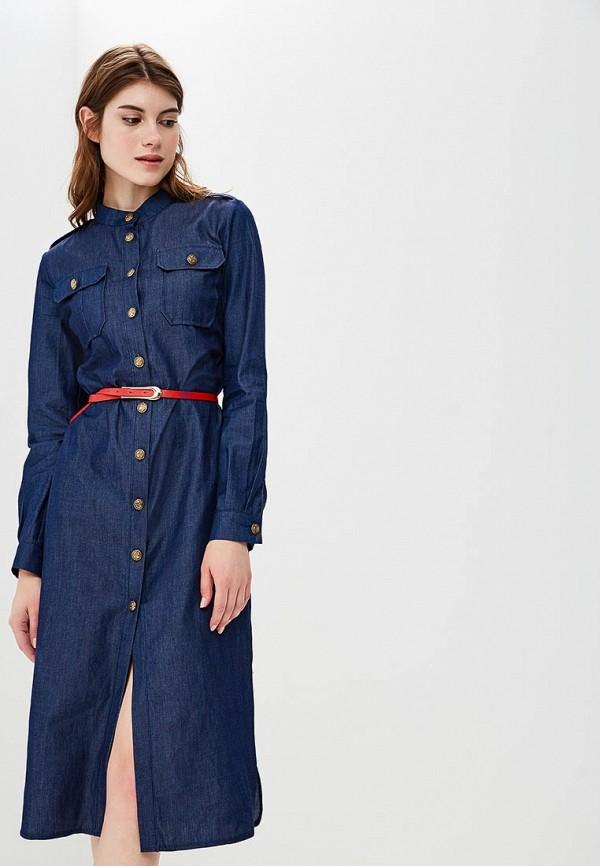 Платье джинсовое Bezko Bezko MP002XW18ULG bezko платье bezko бп 805 темно синий джинс