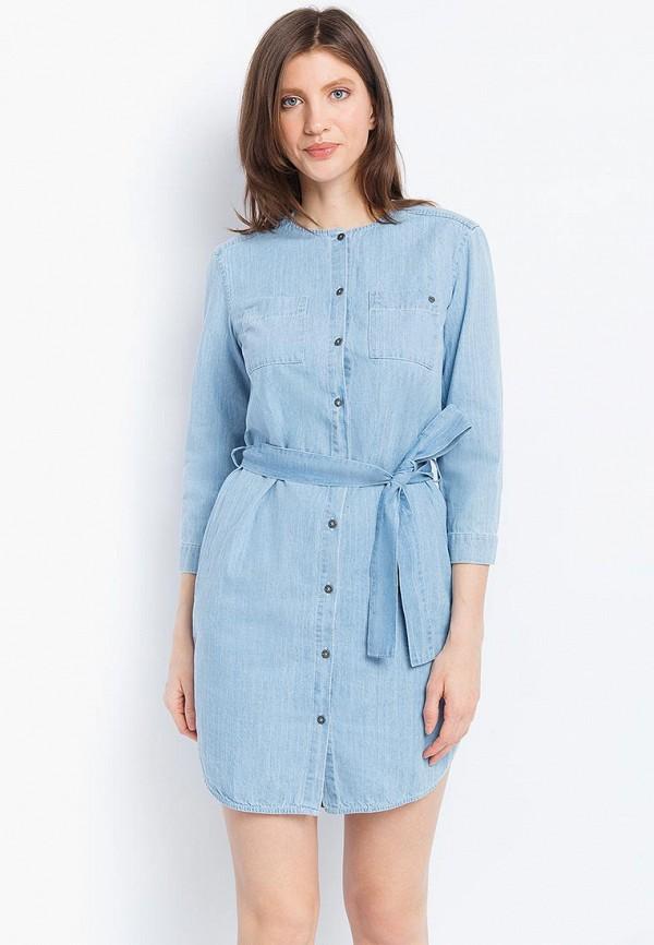 Платье джинсовое Finn Flare Finn Flare MP002XW18UR2 платье джинсовое finn flare finn flare mp002xw18ur2