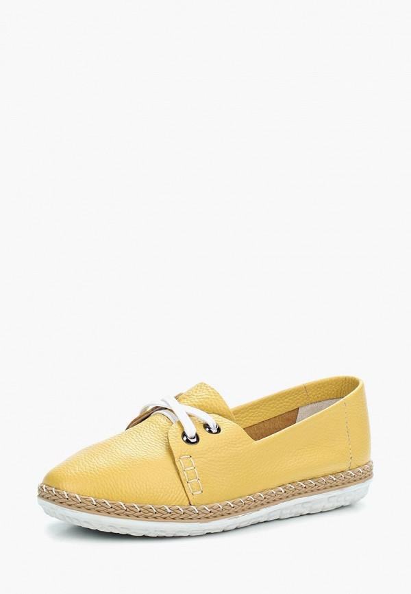 женские ботинки destra, желтые