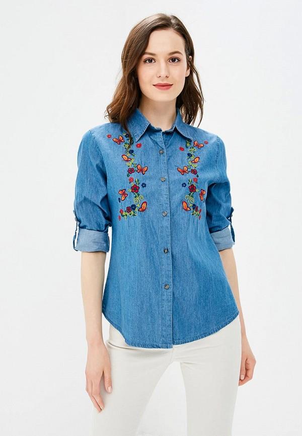 цена Рубашка джинсовая Marissimo Marissimo MP002XW18UZ7 онлайн в 2017 году