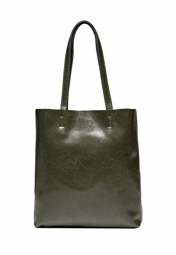 женская сумка royalbag, зеленая