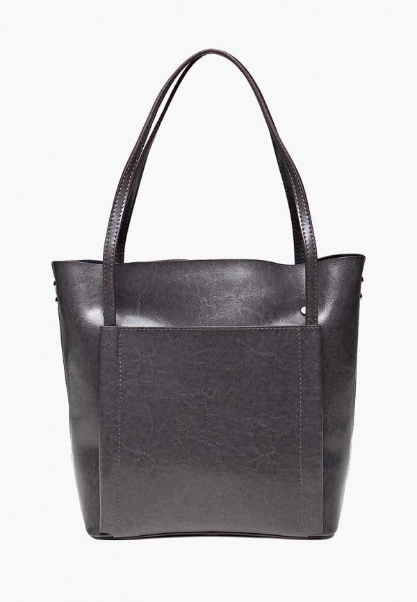 женская сумка royalbag, серая