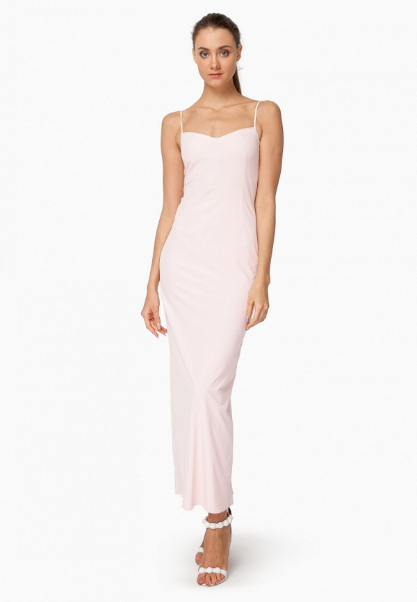женское вечерние платье nai lu-na by anastasia ivanova, розовое