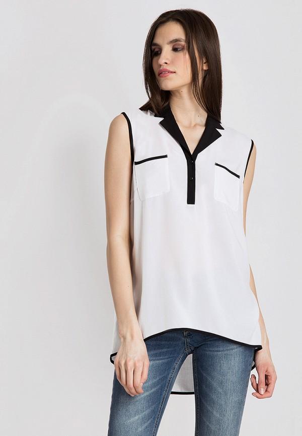 Купить Блуза Finn Flare, mp002xw18vdw, белый, Весна-лето 2018
