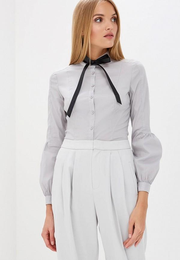 Купить Блуза Gloss, MP002XW18VFP, серый, Весна-лето 2018