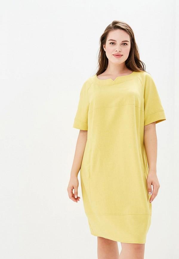 Купить Платье Max&Style, mp002xw18vhn, желтый, Весна-лето 2018