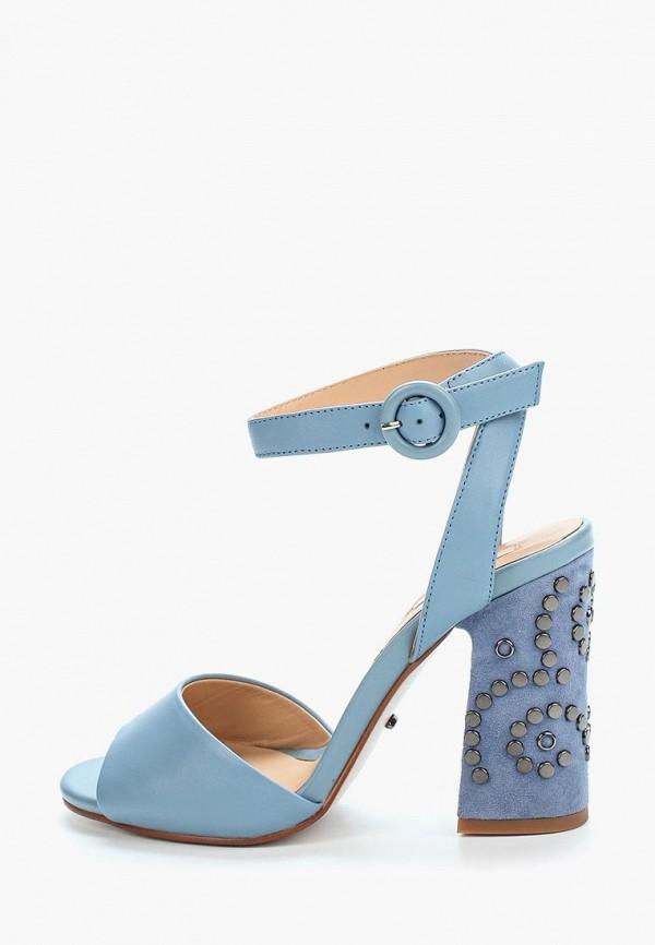 женские босоножки vitacci, голубые