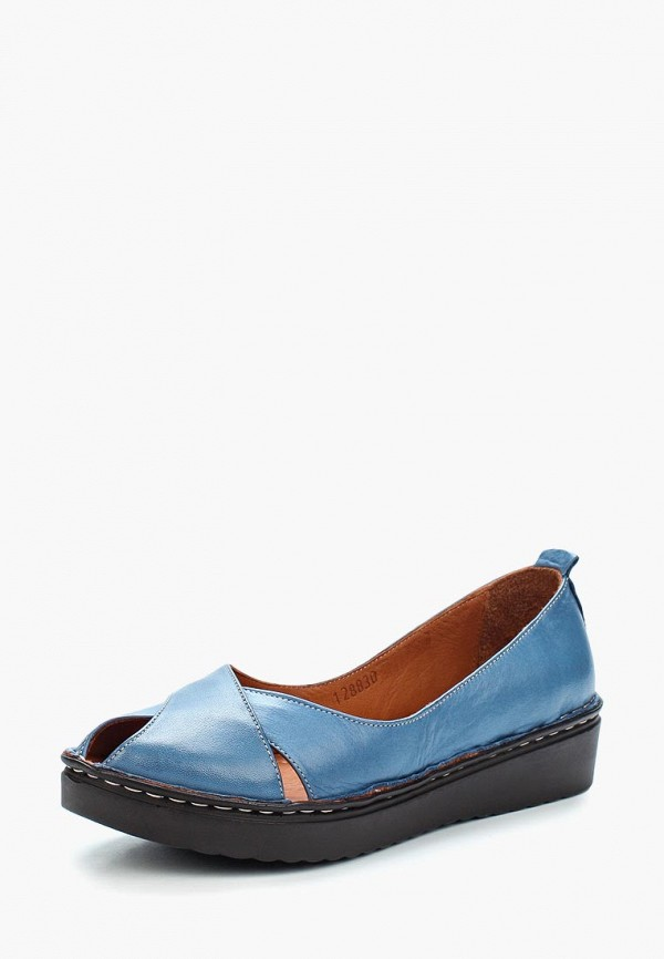 женские туфли vitacci, синие