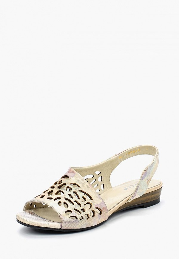 женские сандалии vitacci, золотые