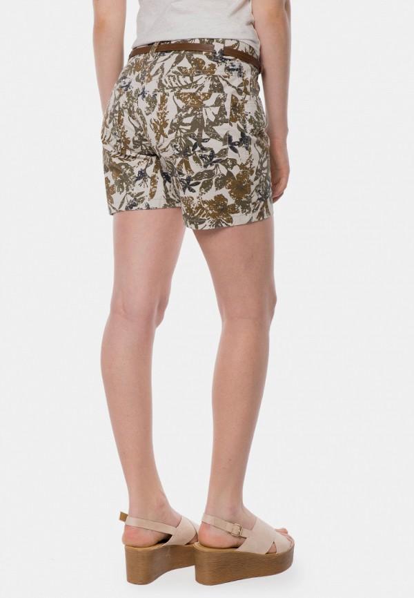 Фото 6 - женские шорты MR520 бежевого цвета