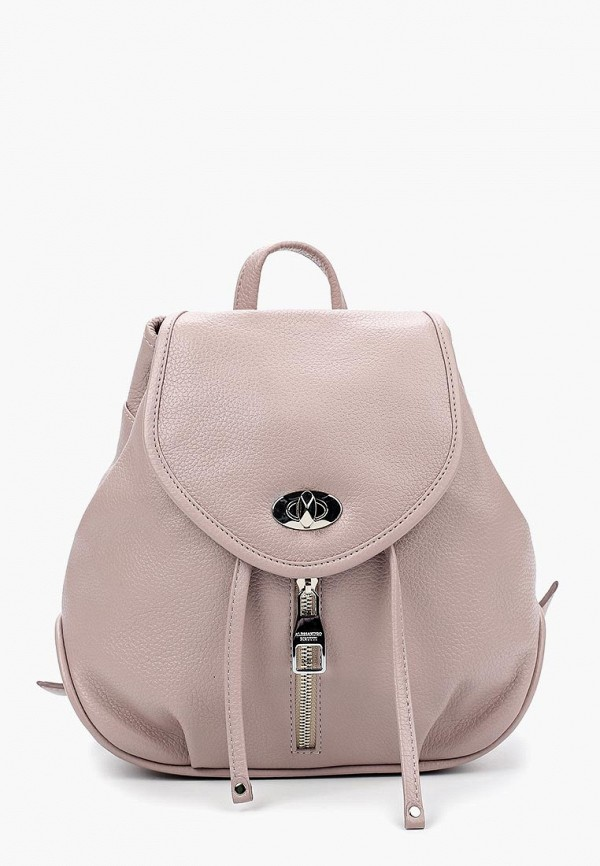 женский рюкзак alessandro birutti, розовый