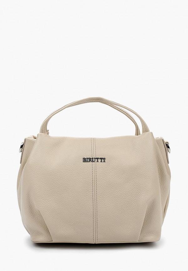 женская сумка alessandro birutti, бежевая