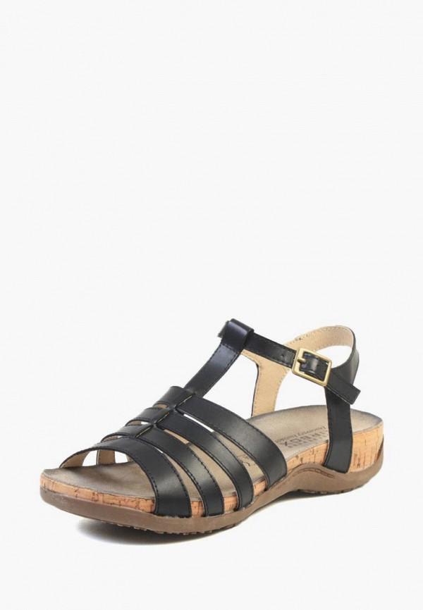 женские сандалии airbox, черные