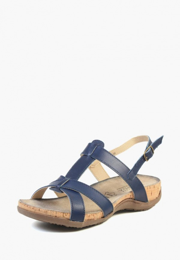 женские сандалии airbox, синие