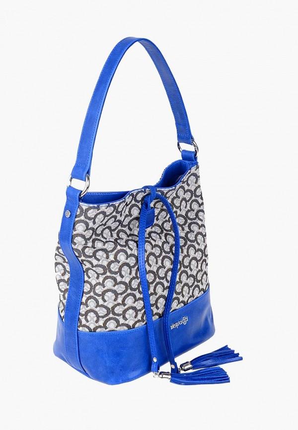 женская сумка dispacci, синяя