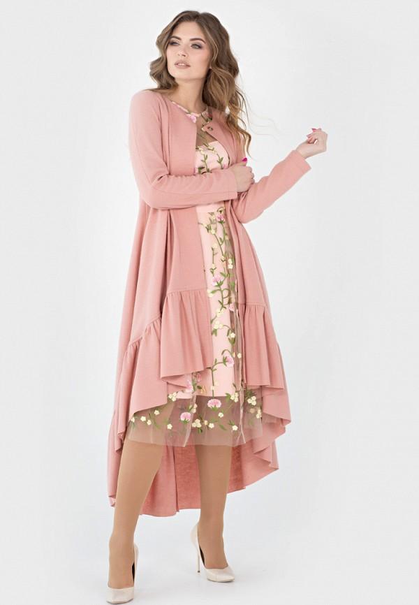 Купить Кардиган Filigrana, mp002xw18w8s, розовый, Весна-лето 2018