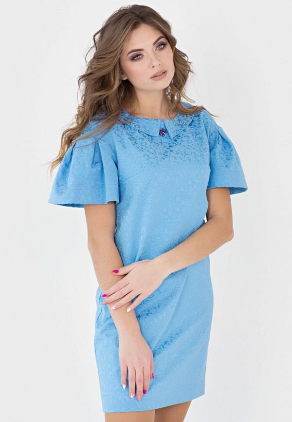 Фото - Женское платье Filigrana голубого цвета