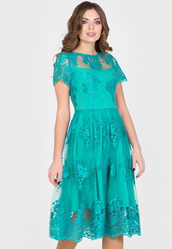 Купить Платье Filigrana, mp002xw18w9t, бирюзовый, Весна-лето 2018