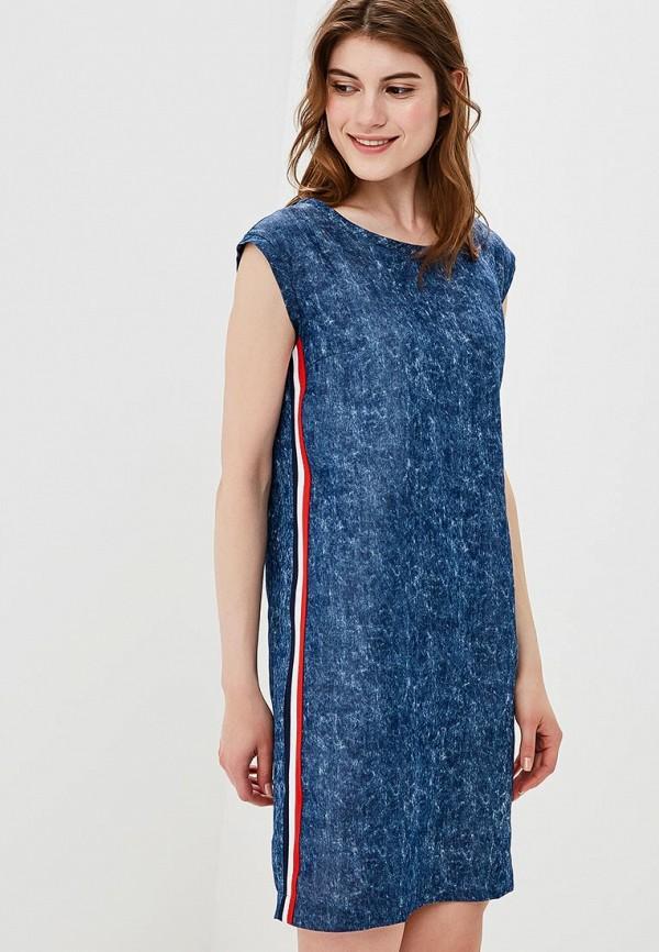 Купить Платье джинсовое Eliseeva Olesya, mp002xw18wc6, синий, Весна-лето 2018