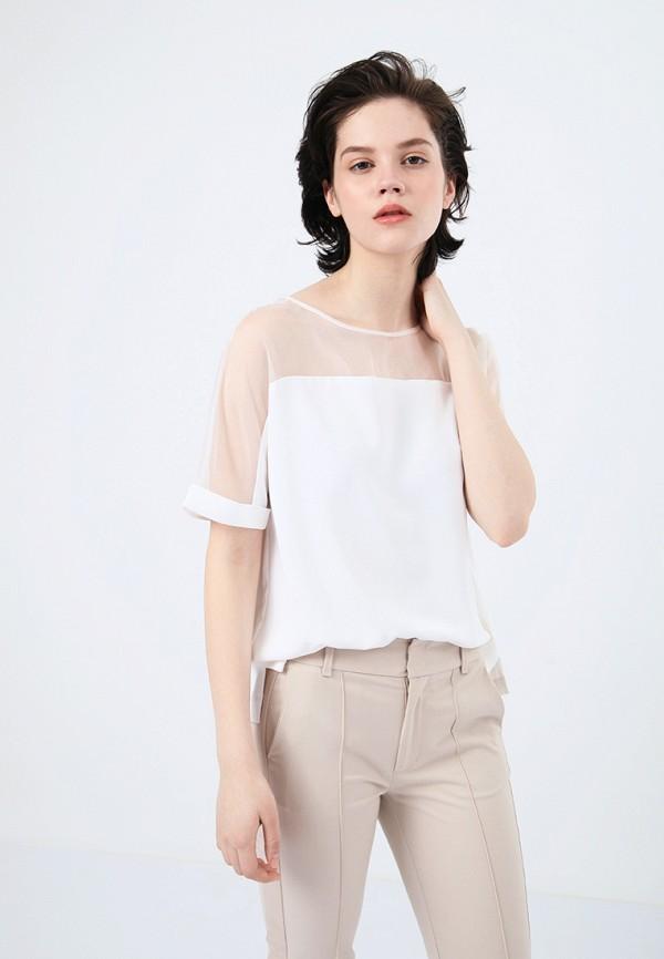 Блуза LIME, MP002XW18WM6, белый, Весна-лето 2018  - купить со скидкой