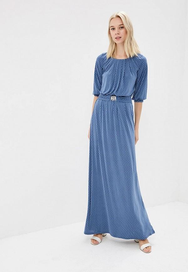 женское повседневные платье ruxara, голубое