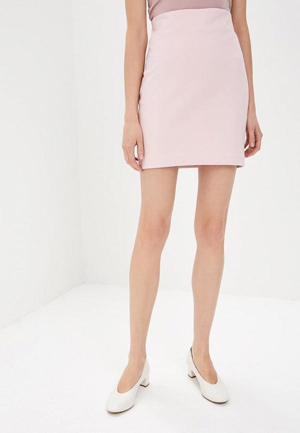 женская прямые юбка ruxara, розовая