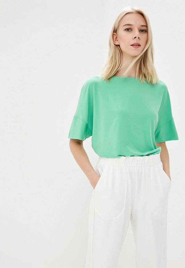 женская футболка ruxara, зеленая