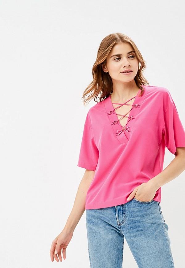 Купить Блуза Ruxara, mp002xw18wuv, розовый, Весна-лето 2018