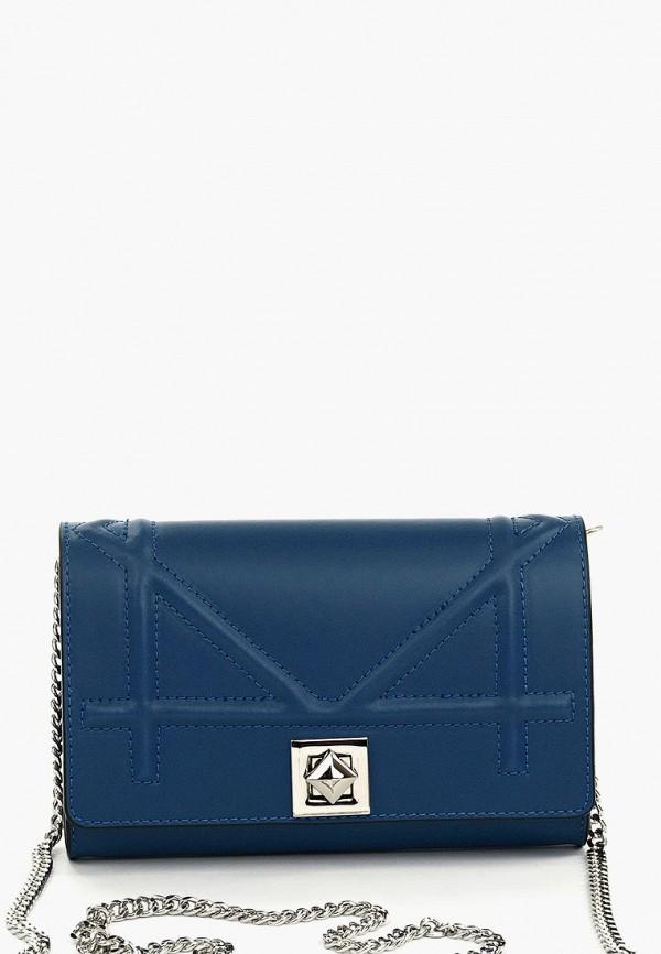 женский клатч vivat accessories, синий