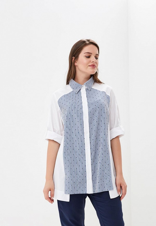 Купить Рубашка Berkline, mp002xw18wxt, белый, Весна-лето 2018