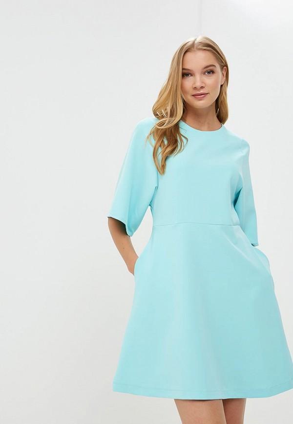 Купить Платье Froggi, mp002xw18wza, бирюзовый, Весна-лето 2018