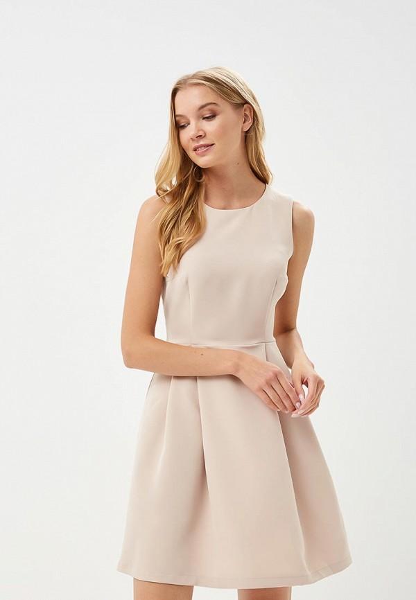 Купить Платье Froggi, MP002XW18WZB, бежевый, Весна-лето 2018