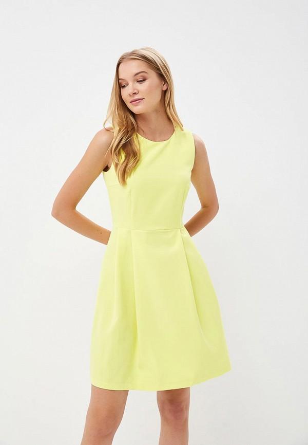 Купить Платье Froggi, mp002xw18wze, желтый, Весна-лето 2018